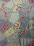 VINTAGE ROSE - Fabric - Flowers Floral Patchwork - Price Per Metre